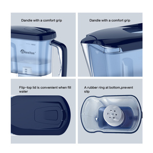 Image 4 - Wheelton Household and Picnic Dual Filter Kettle and Attach extra 3  cartridge Water Filter Water Purifier Brita Free Shipping