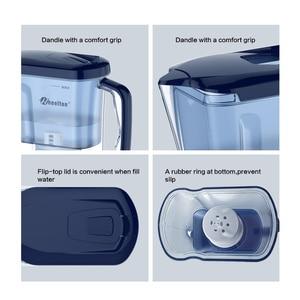 Image 4 - Wheelton бытовой и пикника двойной фильтр чайник и прикрепить дополнительные 3 картридж фильтр для воды очиститель воды Brita Бесплатная доставка