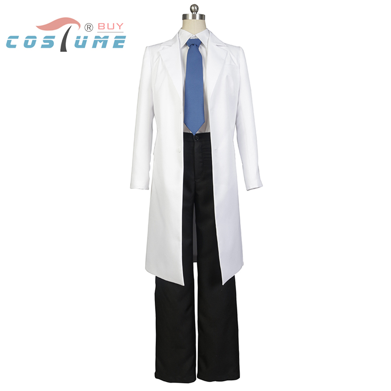 Black Jack aka Kuro Hazama Uniform Coat Pants font b Shirt b font Tie Halloween Party
