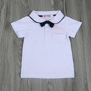 Image 4 - New Summer Baby Clothes Baby Gentleman Short Sleeves Clothes Baby Bodysuits Kids Wear Boys Rompers 6pieces/lot Hot Sale