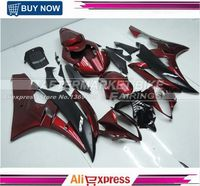 100% Good Quality Fairing Body For Yamaha YZF R6 06 07 ABS Plastic Fairing Kit Candy Red