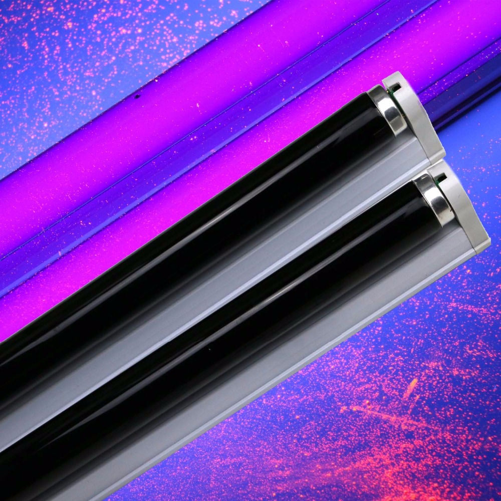 Lâmpadas Ultravioleta blb blacklight azul kit 15 Light Tube Base : G13 Bi-pin Base