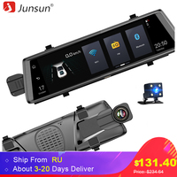Junsun A900 Car DVR Camera 3G Android 5 0 Video Recorder Dual Lens FHD 1080P GPS