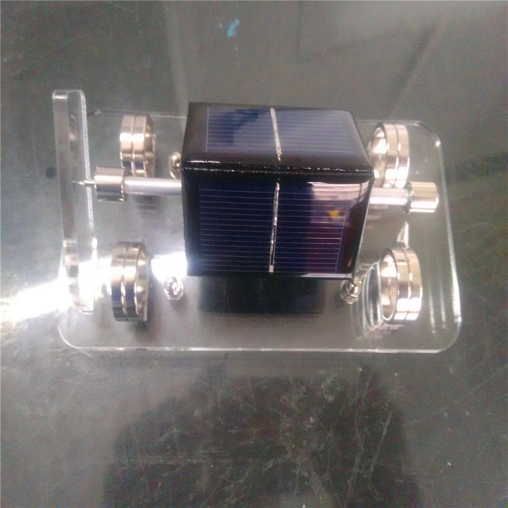 Solar Magnetic Levitation Motor Creative Maglev Furnishing