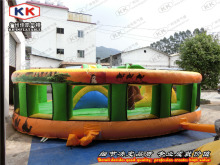 hot sale inflatable zoo bouncer for school equipment outdoor toys