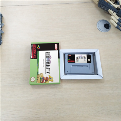Final Fantasy V With Retail Box RPG Game Battery Save EUR Version image