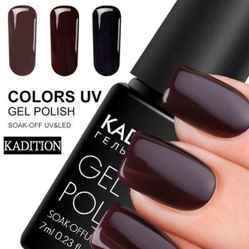 KADITION Gel Paint Nails Art Design Manicure Gellak 29 Color Soak Off Gel Nail Polish LED Nail Art Pure Color Uv Gel Varnish