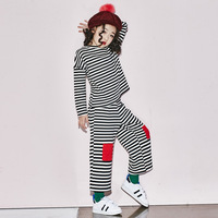 2017 New Children Clothing Sets Spring And Autumn Girls Clothes Sportswear Suit Kids Wear Trendy Clothing