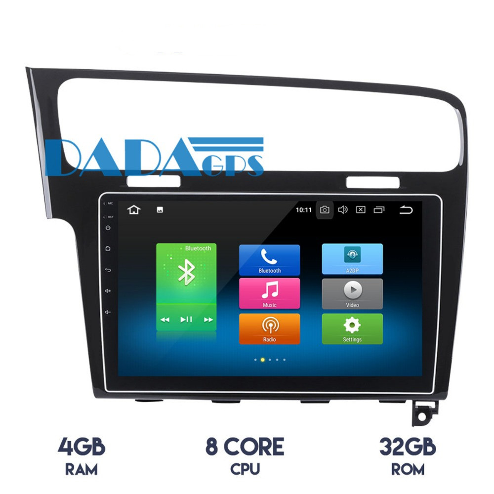 10 2 inch Android 9 0 Car Radio No DVD Player GPS Navigation For Volkswagen VW