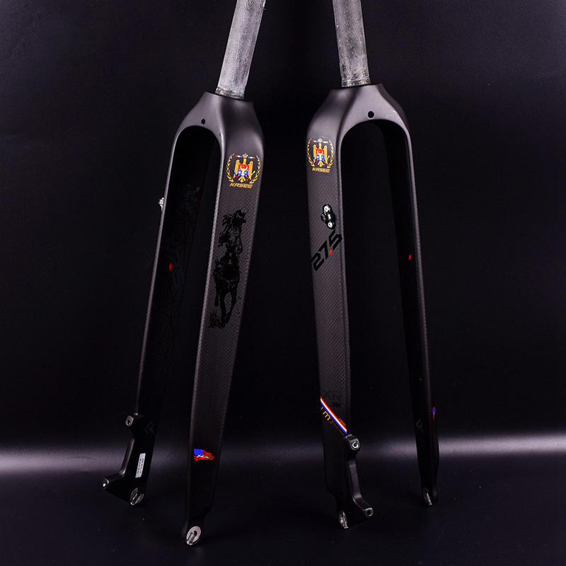 Здесь продается  Hot Sale! 26 /27.5/29er Full Carbon Fiber Hard Mountain Bike Fork Carbon Fork mtb Bike Fork  Спорт и развлечения