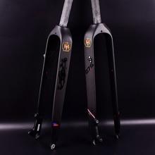 цена на Hot Sale! 26 /27.5/29er Full Carbon Fiber Hard Mountain Bike Fork Carbon Fork mtb Bike Fork
