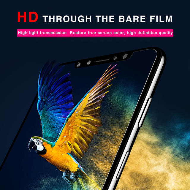 9D Tempered Glass For Xiaomi Redmi Note 6 Pro Screen Protector Xiomi Mi A2 Lite Glass on Pocophone F1 5 Plus 6A 8 Lite Max 3 S2 3