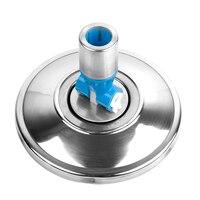 Mop cabeça de aço inoxidável mop cabeça rotativa mop cabeças spin mop limpeza produtos cor aleatória