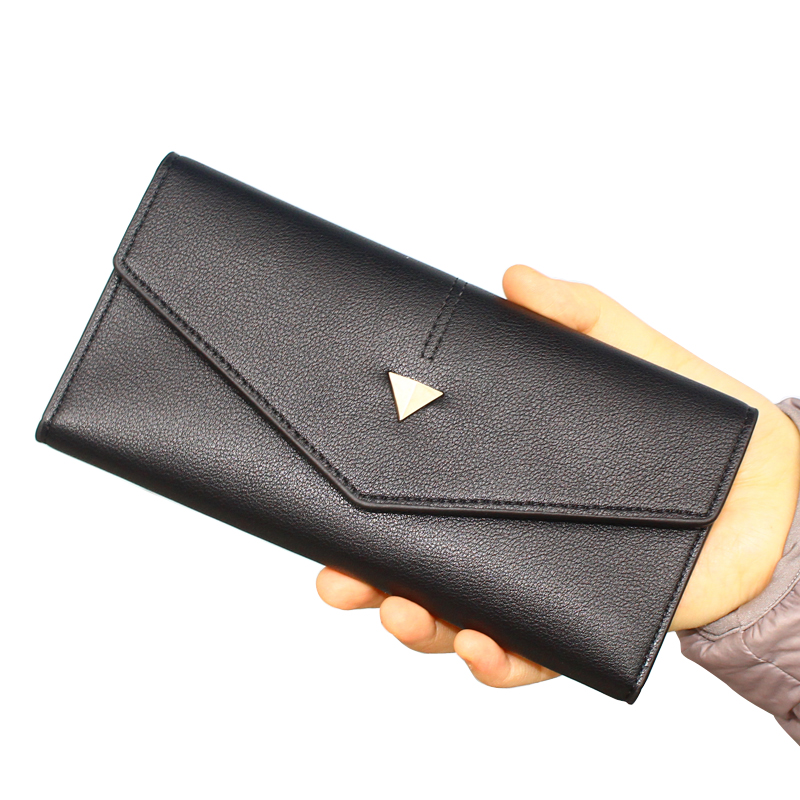 Fashion Women Wallets Lady Handbags Coin Purse Cards ID Holder Envelope Money Bags Clutch Female Long Purses Pocket Wallet Bag веб камера canyon cne cwc2 черный серебристый