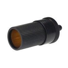 Car Accessory 12V 24V Female Cigarette Lighter Inline Socket Connector Conversion Plug