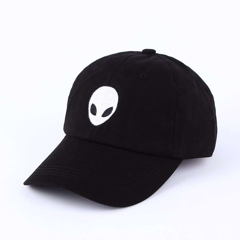 2016 Hot Sales Aliens Outstar Saucer Space E.T UFO Fans Black Fabric Baseball Cap Hip Hop Snapback Hat for Men Women Fashion New 2016 new brand gorras aliens outstar e t ufo fans black pink suede snapback baseball cap for men women hip hop hat casquette