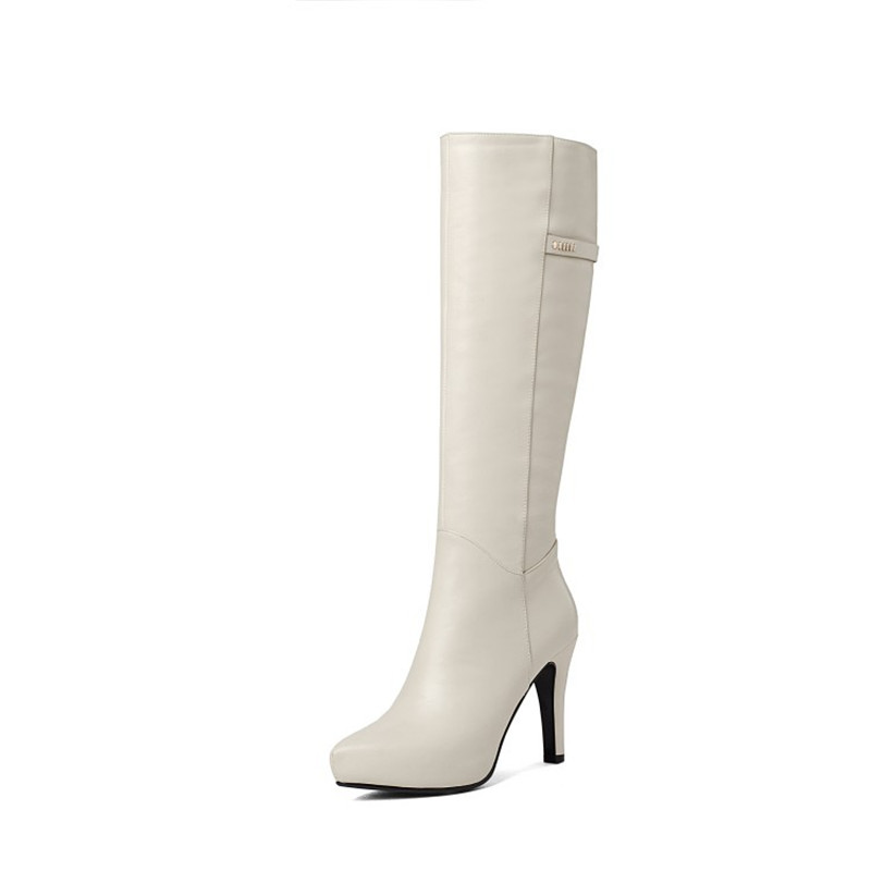2019 autumn and winter new boots pointed stiletto high heel velvet high boots womens boots beige 04062019 autumn and winter new boots pointed stiletto high heel velvet high boots womens boots beige 0406