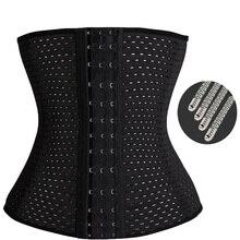 Waist trainer hot shapers modeling strap cincher women slimming sheath body shaper belt fajas bodysuit cinta girdle shapewear