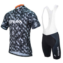 2019 STRAVA Cycling clothing 9D Gel pad Shorts Bike Jersey set Ropa Ciclismo Mens pro Maillot Culotte clothing MTB Cycle Clothes цена и фото