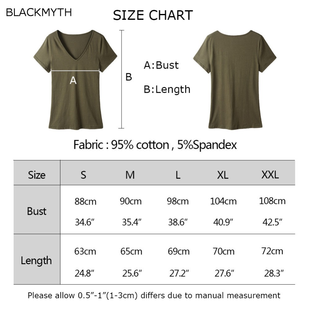 44c96ff47 BLACKMYTH Daddy Hot Selling Women Design Letters T Shirt Plus Size Casual  Harajuku V neck Tops Short Sleeve Cotton shirts-in T-Shirts from Women's  Clothing ...