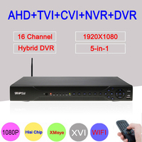 XM Hisi Chip 24 Channels 1080P 1080N 960P 720P 960H Three In One NVR AHD