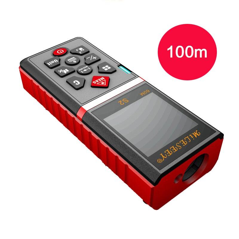 Mileseey S2  laser rangefinder 100m distance measurer laser distance meter