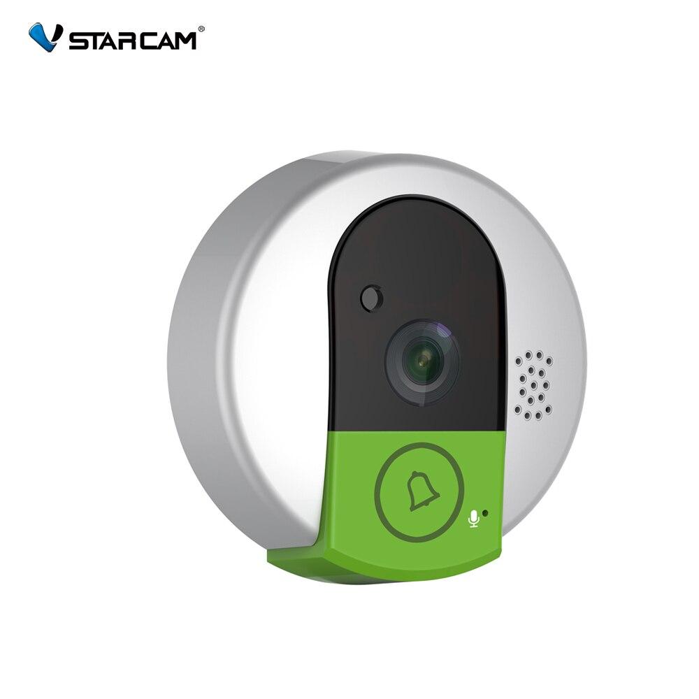 VStarcam C95 HD 720 P Draadloze WiFi Beveiliging IP Deur Camera Nachtzicht Twee Weg Audio Groothoek Video Doorcam Cam dm 100c draadloze deur contact draadloze zonder antenne deur contact sensor monitoring de deur windows magnetische contact