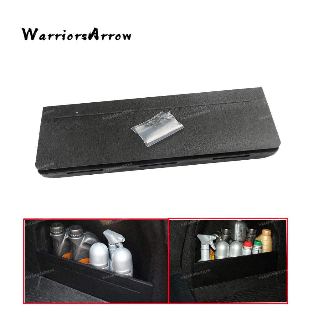 WarriorsArrow Black Rear Trunk Storage Compartment Lid
