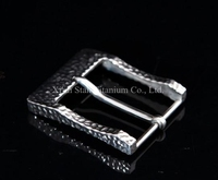 Pure Titanium Handmade Belt Buckle Anti allergic 35g/pc with Pure titanium 3 Mounting screws for Belt Width Less than 38mm