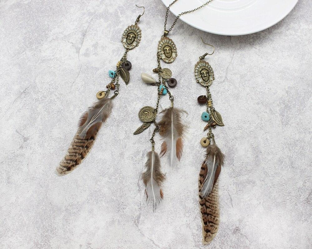 HTB1QwEaevjM8KJjSZFsq6xdZpXa2 - Women Long Necklace Indian Coin Stone Feather Fringed Necklaces Decorative Sweater Chain Collar Pendant Choker Bijoux (XL012)
