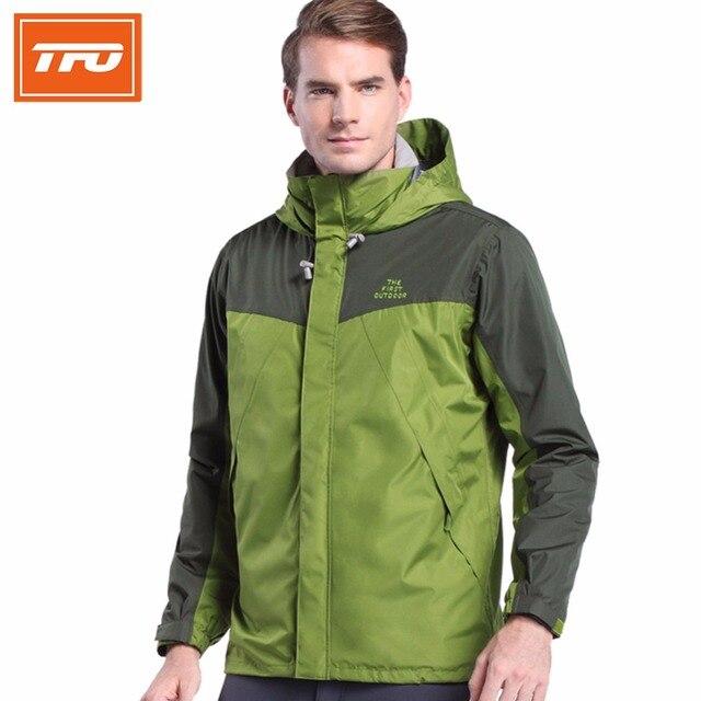 TFO Men hiking jacket 3 IN 1 with inner fleece coat Outdoor Sports ...