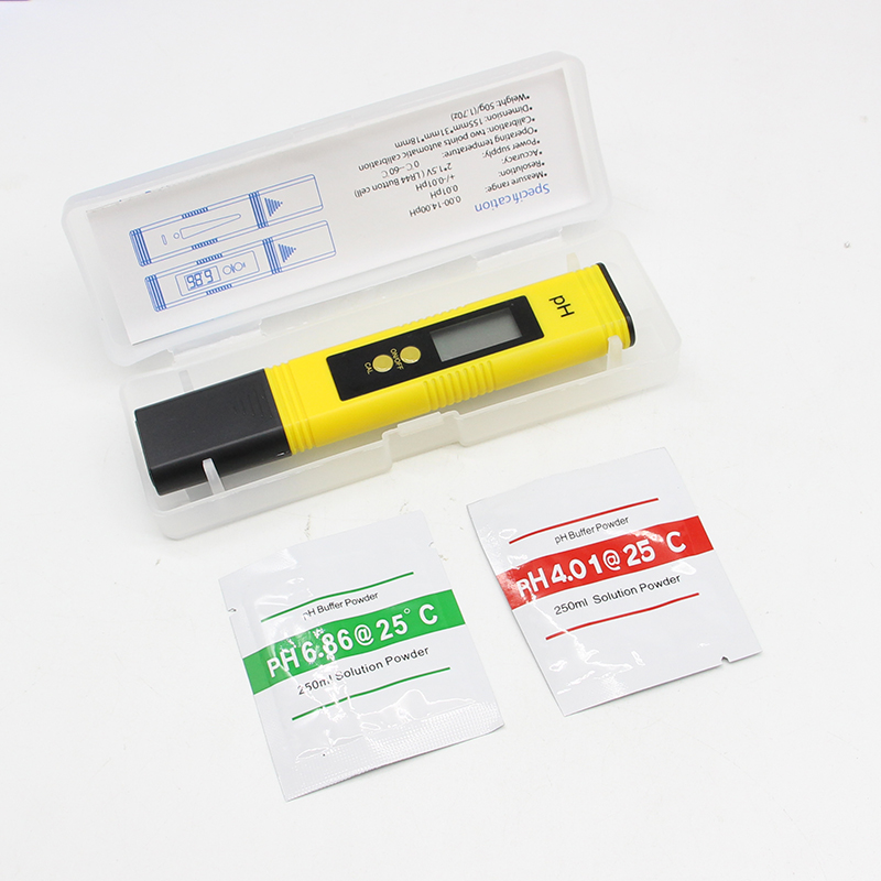 PH TESTER Accuracy 0.01 Digital PH Meter Tester for Water Food Aquarium Pool Hydroponics Pocket Size PH Tester Large LCD Display цена