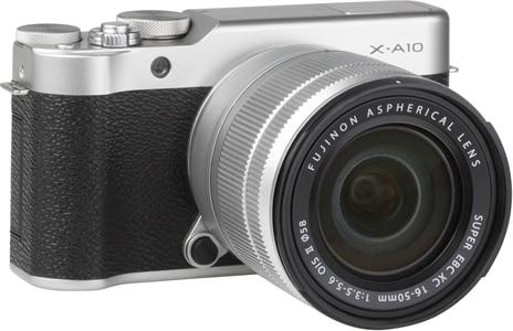 New Fujifilm X-A10 Mirrorless Digital Camera & 16-50mm Lens – Silver