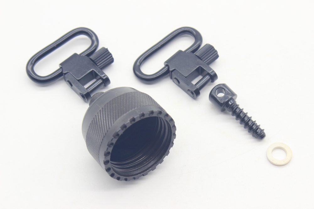 TriRock Hunting Sling Swivels / Replacement Cap Set WIN 1200/1300 Fit 1200/1300 2pcs 1.0 Sling Swivel 3/4 wood screw