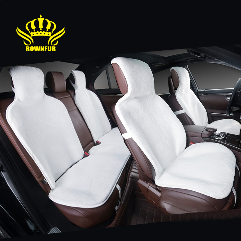 new hot selling car seat covers universal faux fur for all seats 5 pcs for lada kia car covers. Black Bedroom Furniture Sets. Home Design Ideas