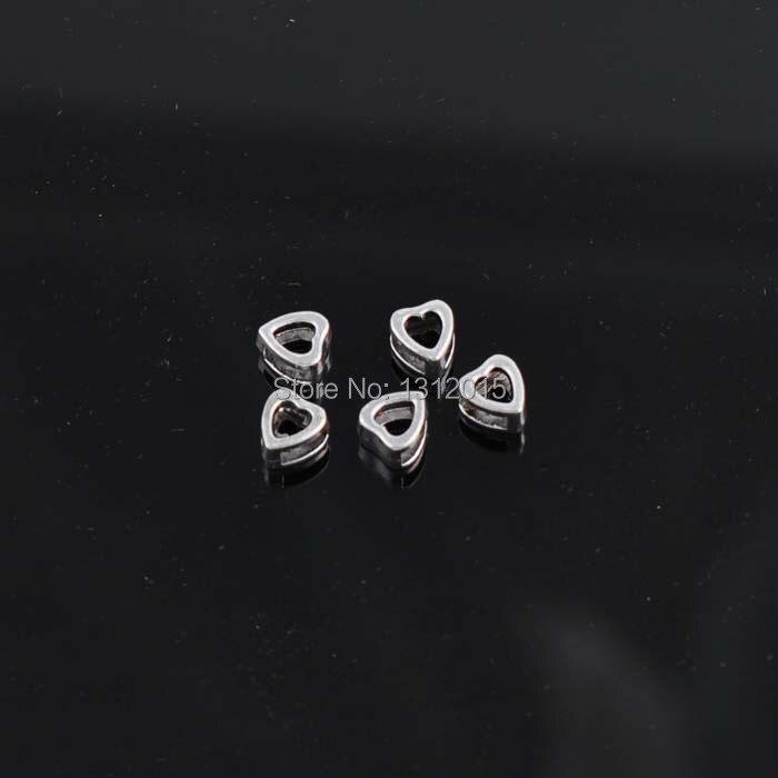 a4b1873c1c3 Frete Grátis! DIY 50 PCs Prata Antiga Liga de Metal Espaçadores Charme  Beads Fit Pulseira 9x8mm YTC0025