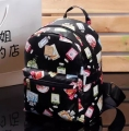 Hot-selling new girl PU Butterfly flower bottle women's mini backpack fashion daffodils lovers leisure shoulder bag