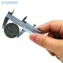 Caliper vernier com saco de varejo 0-70mm 0.05mm mini caliper collectables ferramenta de medição calibre digital estudantes ferramentas