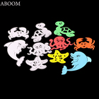 ABOOM Hot Sale Cute Animal Crab Metal Carbon Steel Die Cut Embossing Folder Decorative Paper Card Stencil Cutting Dies For DIY