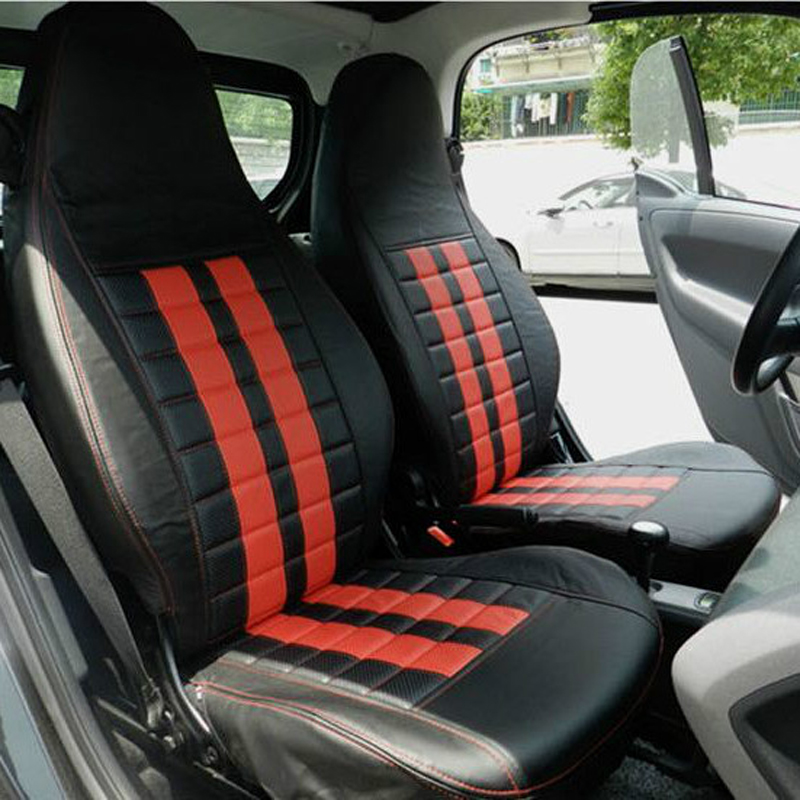 Automobiles Seat Covers Custom Fit For Benz Smart Cover Car Seats Protector Front Rear Ventilated Cushions Accessories In