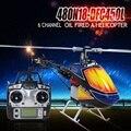 2016 Recién Llegado de Estrenar Aceite Combustible Nitro DFC 480N Águila Mundial 2.4G 6CH RC Helicóptero Juguetes de Control Remoto RTF
