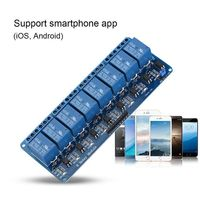 WIFI Network IO Controller 8 Channel Relay Module Remote Control switches For Arduino Android iOS iMatic
