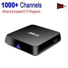 M8S Amlogic S812 Android 4.4 Smart TV Box with SUBTV Iptv Account Arabic Sport Canal Quad Core 2GB RAM 8GB ROM IPTV Set Top Box