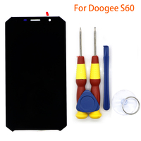 New Original Touch Screen LCD Display LCD Screen For DOOGEE S60 Replacement Parts Disassemble Tool Glue