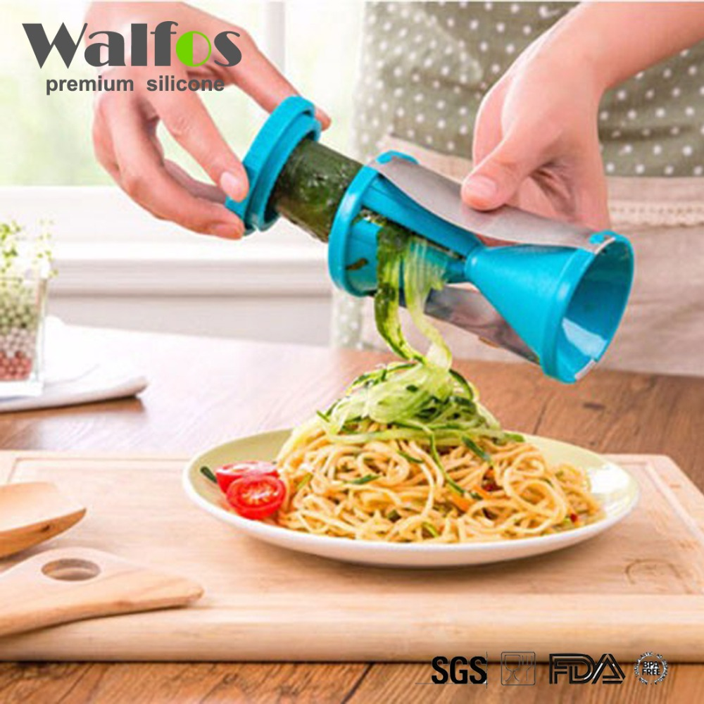 Vegetable Fruit Spiral Slicer Spirelli Graters Carrots Spiralizer Julienne Cutte
