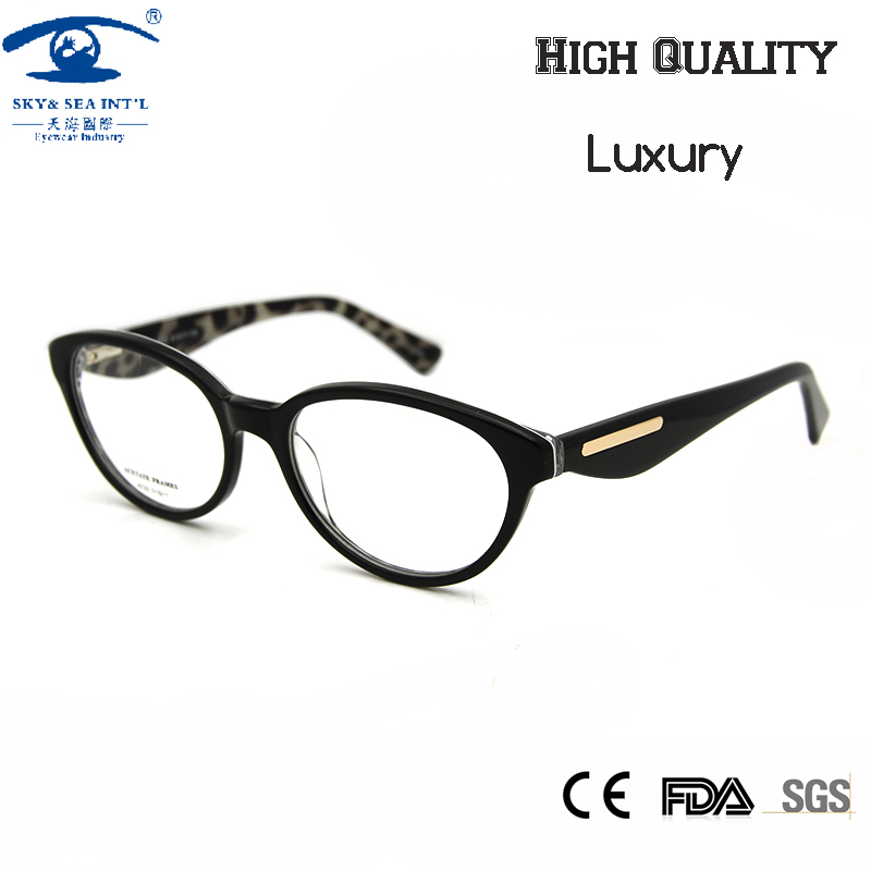 f3dc3828e6bf New Cat Eye Glasses Women Optical Vintage Spectacle Frame Luxury oculos de  grau Woman Prescription Eyewear Clear Lens -in Eyewear Frames from Women's  ...