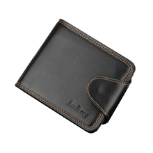 2015 Purse with Coin Pocket Card Holder Designers Wallet Famous Brand Men Short PU Leather Slim Small Male Solid Luxury QB-00006