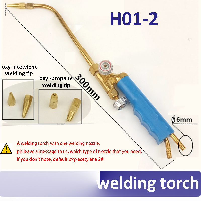 H01-2 oxy-acetylene oxy-propane welding torch cutting torch oxygen gas with 1pcs welding nozzle  цены