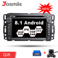 Android 8,1 DVD плеер автомобиля Quad CoreFor Chevrolet Tahoe траверс BUICK Enclave GMC HUMMER Мультимедиа Радио gps TPMS Canbus Wi Fi