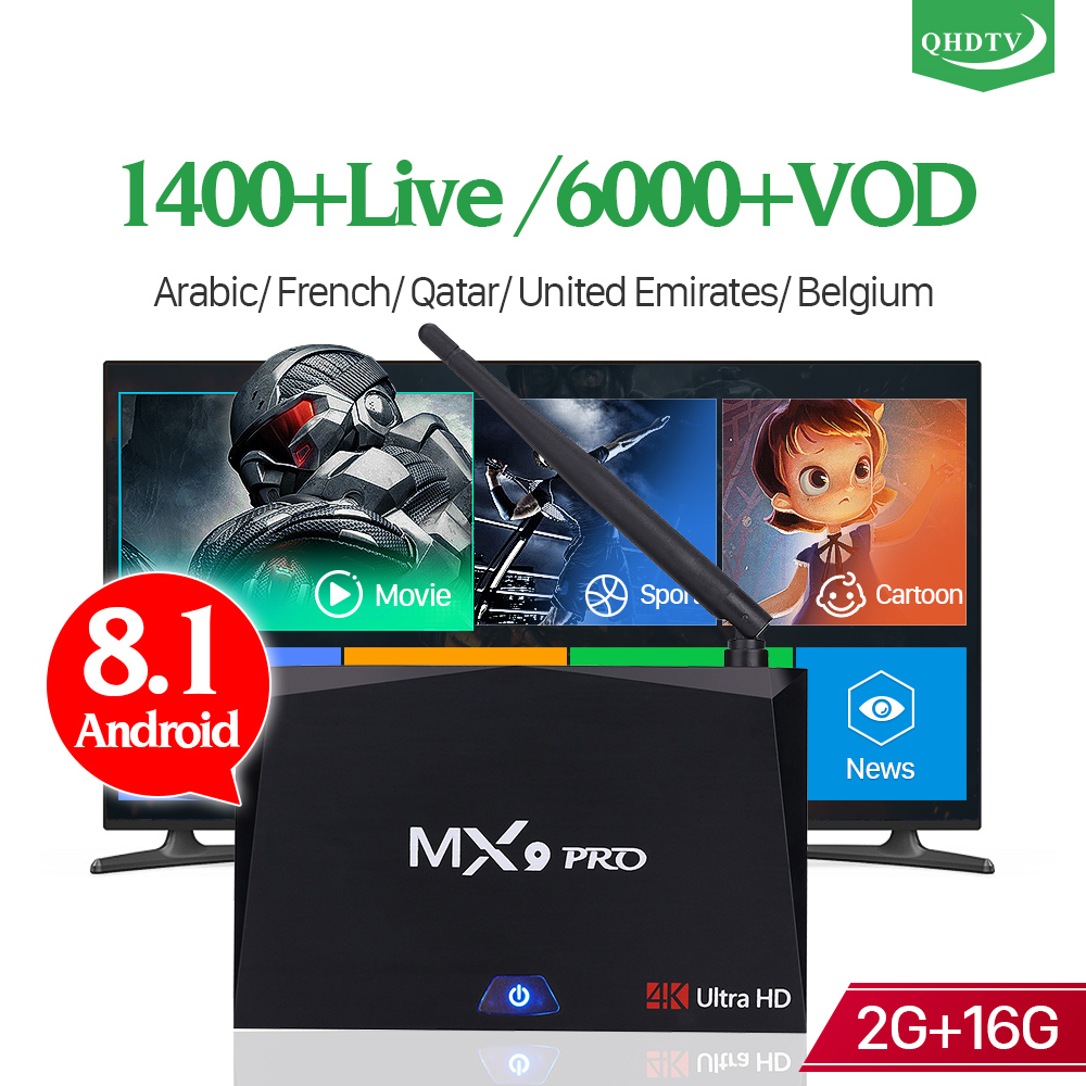 IPTV France Arabic Belgium Dutch IP TV 1 Year Code MX9 Pro 2+16G BT Dual-Band WIFI IPTV 4K H.265 French QHDTV Subscription Box  IPTV France Arabic Belgium Dutch IP TV 1 Year Code MX9 Pro 2+16G BT Dual-Band WIFI IPTV 4K H.265 French QHDTV Subscription Box